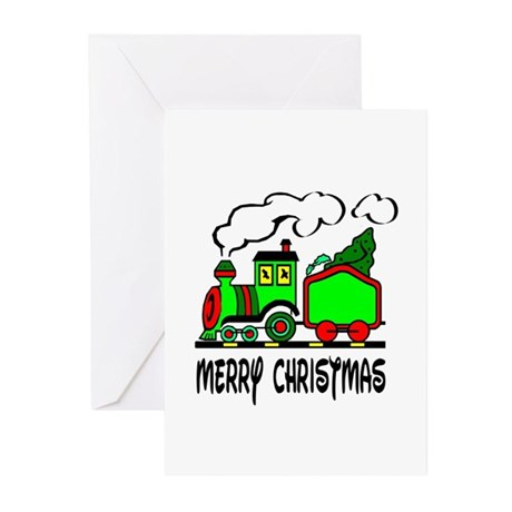 Christmas Train Greeting Cards (Pk of 20)
