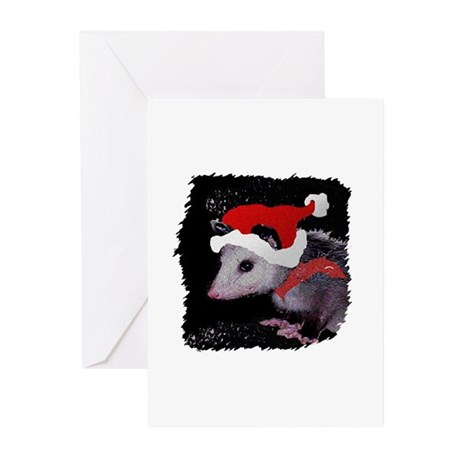 Possum Santa Greeting Cards (Pk of 10)