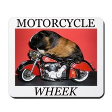 Motorcycle Wheek! Mousepad