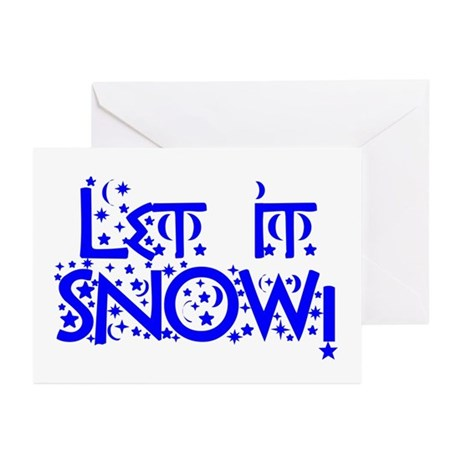 Let it Snow! Greeting Cards (Pk of 10)