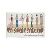 Girls' Day Bachelorette Rectangle Magnet