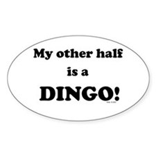 Dingo Oval Decal