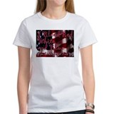 Unique I bleed red and white Tee
