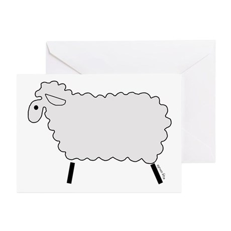 Cute Lamb Greeting Cards (Pk of 20)