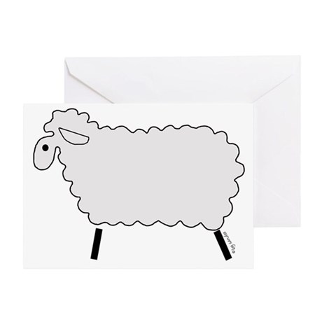 Cute Lamb Greeting Card