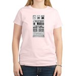 Wanted John Wilkes Booth Women's Light T-Shirt