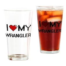 I love my Wrangler Drinking Glass