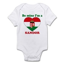 Sandor, Valentine's Day Infant Bodysuit