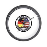 6913th Security Squadron Wall Clock