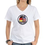 6913th Security Squadron Women's V-Neck T-Shirt