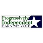 Progressively Independent Green (Sticker