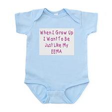 Just Like Jewish Eema Infant Bodysuit