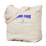 Wind Cave National Park (Arch) Tote Bag