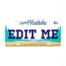 Manitoba - Canada Replica Aluminum License Plate