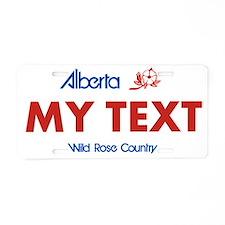Alberta, Canada Replica - Aluminum License Plate