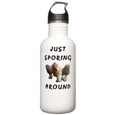 Morel mushrooms Water Bottle