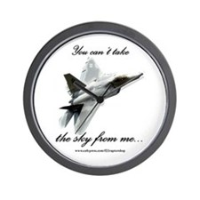 F22 Raptor Wall Clock