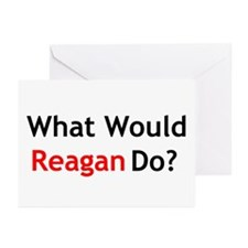 What Would Reagan Do? Greeting Cards (Pk of 20)