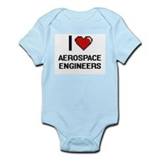 I love Aerospace Engineers Body Suit