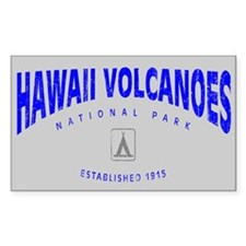 Hawaii Volcanoes National Park (Arch) Decal