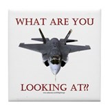 F35 Lightning II Tile Coaster