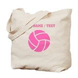 Personalize volleyballs Bags & Totes