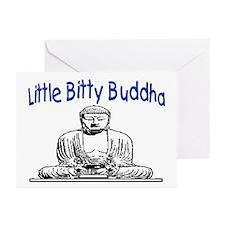 LITTLE BITTY BUDDHA Greeting Cards (Pk of 20)
