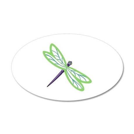 DRAGONFLY APPLIQUE Wall Decal