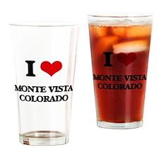 I love Monte Vista Colorado Drinking Glass