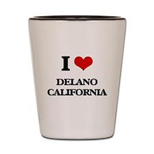 I love Delano California Shot Glass