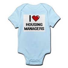 I love Housing Managers Body Suit