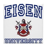 EISEN University Tile Coaster