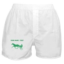 Green Harness Racing (Custom) Boxer Shorts
