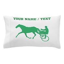 Green Harness Racing (Custom) Pillow Case