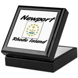 Newport Rhode Island Keepsake Box