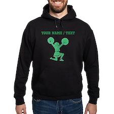 Green Cheerleader (Custom) Hoodie