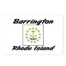 Barrington Rhode Island Postcards (Package of 8)