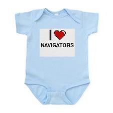 I love Navigators Body Suit