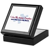 My Daughters Love Me Back Keepsake Box