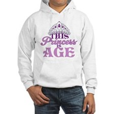 Birthday Princess Hoodie Sweatshirt