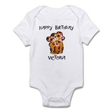 Happy Birthday Victoria (tige Infant Bodysuit