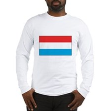 Luxembourger Flag Long Sleeve T-Shirt