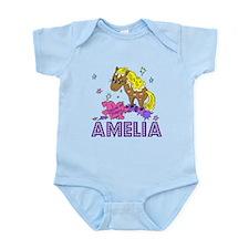 I Dream Of Ponies Amelia Infant Bodysuit