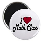 "I Love Math Class (Back to Sc 2.25"" Magnet (10 pac"