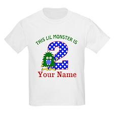 2nd Birthday Monster T-Shirt