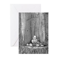 Rock Shrine Greeting Cards (Pk of 20)