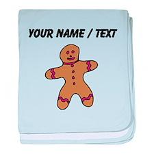 Ginger Bread Man (Custom) baby blanket