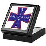Master Masons Cross Keepsake Box