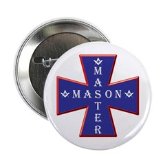 Master Masons Cross Button