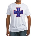 Master Masons Cross Fitted T-Shirt